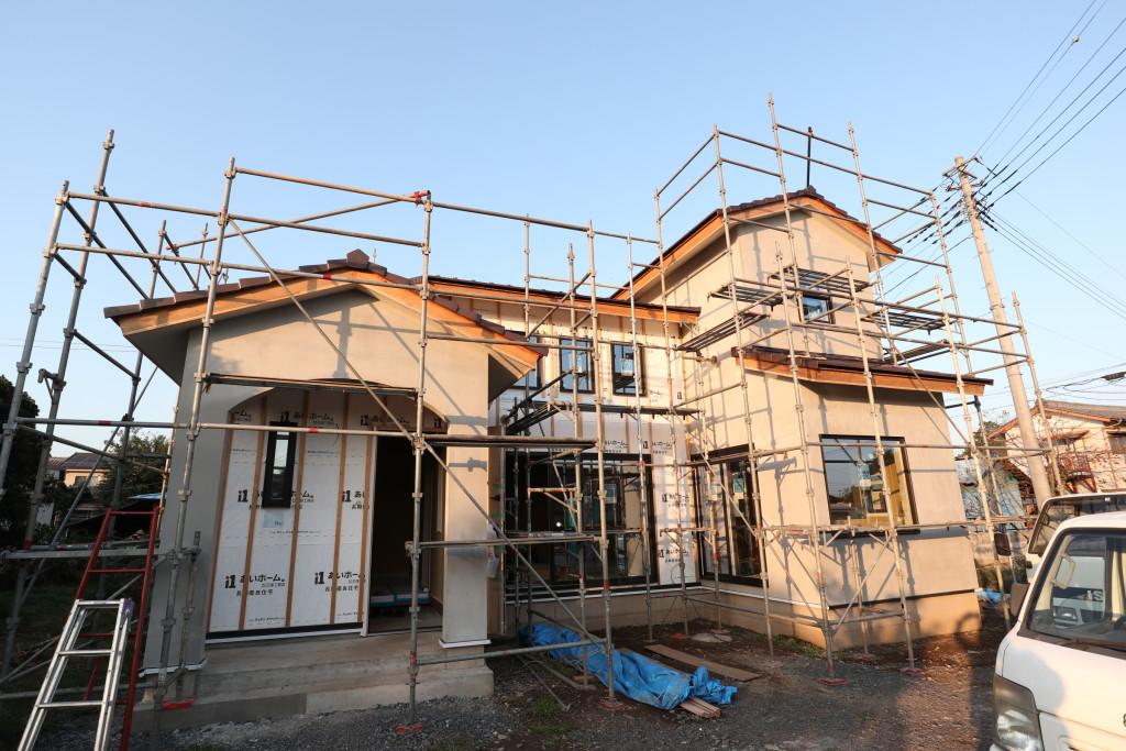 茨城県筑西市「吹き抜けのある注文住宅」順調に進行中です!