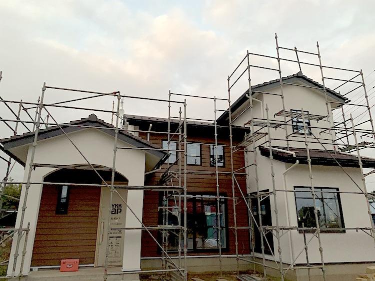 茨城県筑西市「吹き抜けのある注文住宅」完成が近づいてきました!