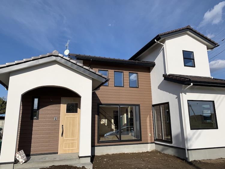茨城県筑西市「吹き抜けのある注文住宅」完成しました!