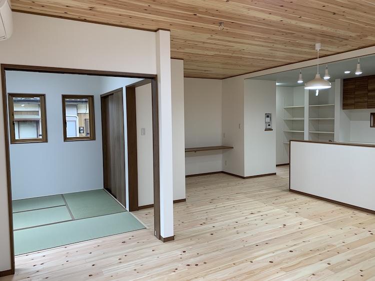 茨城県結城郡八千代町「ヒノキの注文住宅」完成しました!