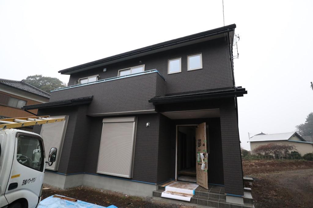茨城県注文住宅「木の家」完成間近です!
