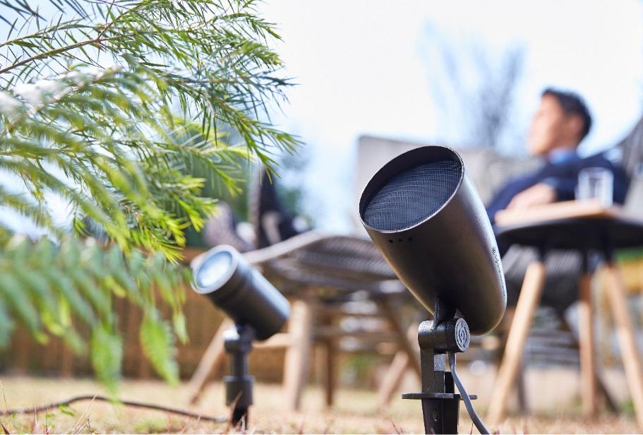 タカショーから、庭専用の高品質スピーカーシステムを発売へ