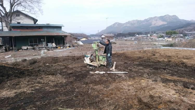 栃木県宇都宮市注文住宅「カリフォニアスタイルの平屋」地盤調査を行いました!