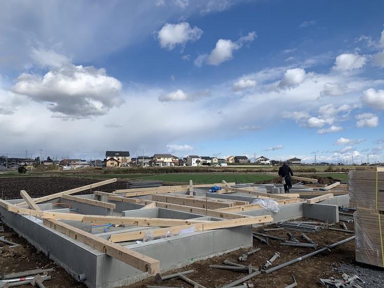 茨城県筑西市「スタイリッシュな吹き抜けのある注文住宅」近日上棟予定です!