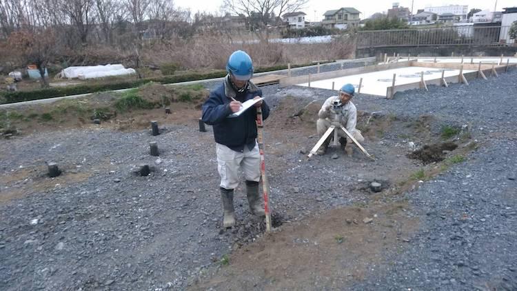 茨城県結城市「コーヒショップ」地盤改良工事を行いました!