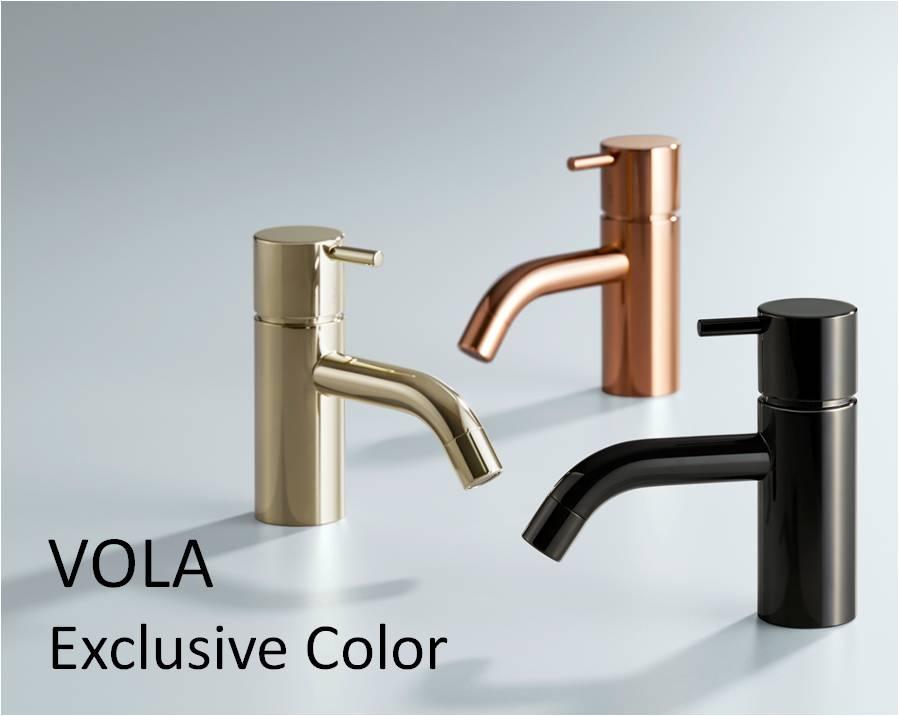 セラトレーディングから、水栓金具「VOLA」に特別な3色追加へ