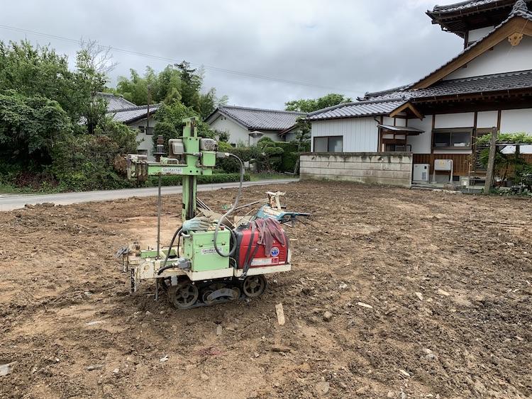 茨城県桜川市注文住宅の地盤調査を行いました!