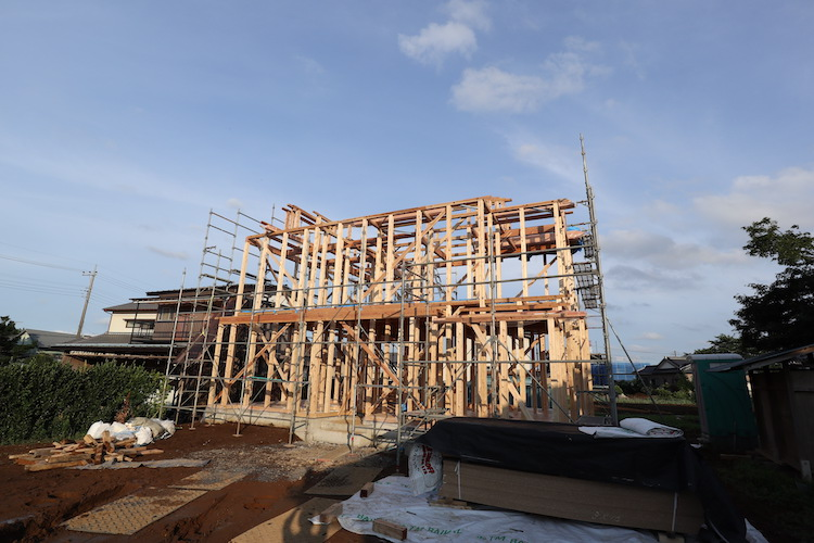 茨城県つくばみらい市注文住宅「スパニッシュスタイル」が上棟しました!