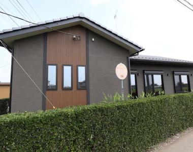 木目際立つ「和モダン平屋」の注文住宅