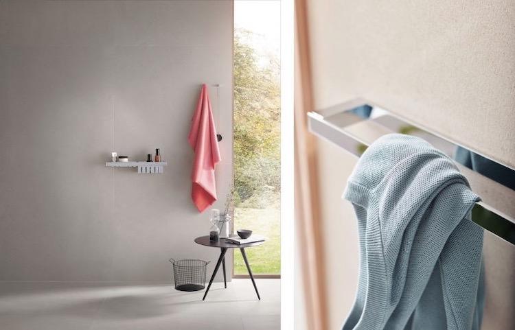 セラトレーディングから、シャープな印象の洗面アクセサリーを発売へ