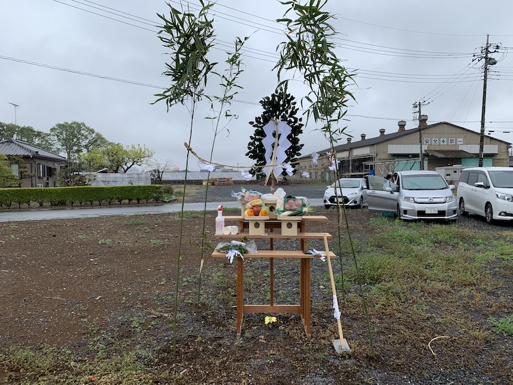 茨城県結城市注文住宅の地鎮祭を行いました!