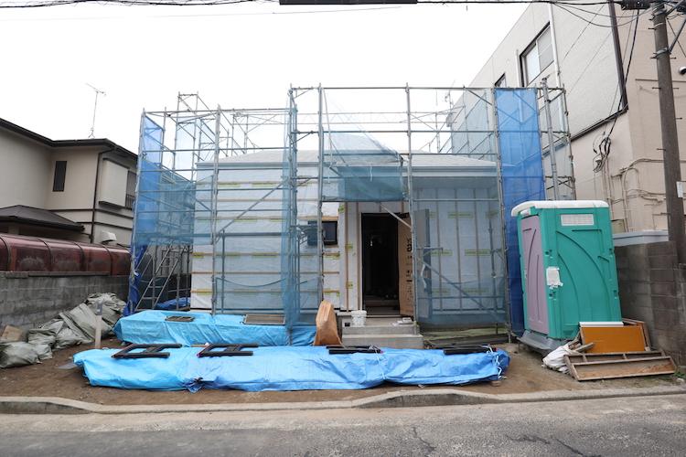 茨城県水戸市「スタイリッシュな平屋+α」注文住宅の工事が進行中です!