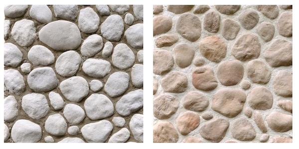 重さは1/2、河床の石を再現した壁材発売へ